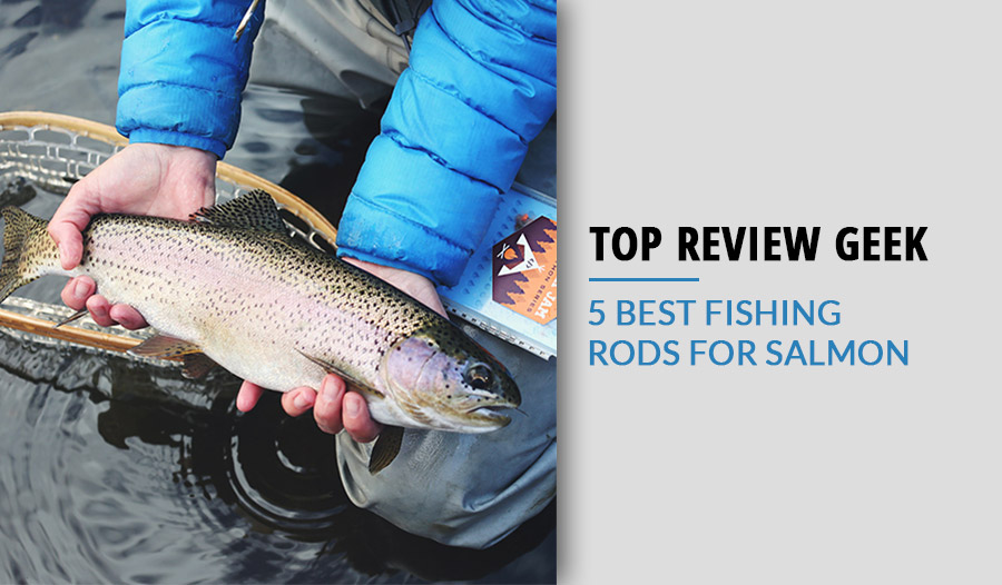 5 Best fishing rods for salmon