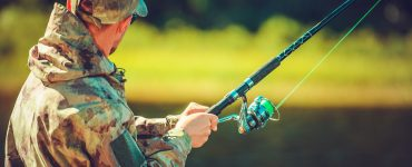 bass fishing rod and reel