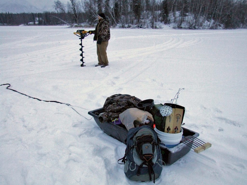 What is an ice auger - Fishing & Hunting Tips